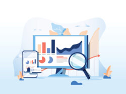 Vector image of a SEO Report
